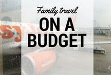 Family travel on a budget / Family budget travel #tips anyone can use! We travel on a #budget all the time, and have great family vacations! #roadtrips #disney #airlines