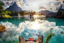Honeymoon Destinations / Destinations from all over the world to help you find your perfect honeymoon destination!