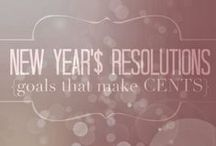 New Year Resolutions / Start this new year off right!