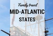 MidAtlantic Travel with Kids / What to do and where to go with kids in the Midatlantic US: #Delaware, #Virginia, #Pennsylvania #DC
