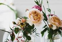 Color Trend: Natures Charm / Nature becomes a trend. Here we see natural beauty mixed with sophisticated elegance, perfect for rustic weddings, decor and more. This look is perfect for year round usage.