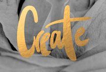 Create / Creative stuff