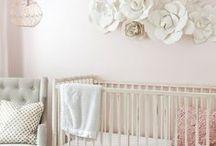 inspire: fresh and feminine girl's bedroom / girl's room inspiration, little girl's bedroom, fresh and feminine, natural light, bedroom inspiration, kid's room inspiration, pink, girly