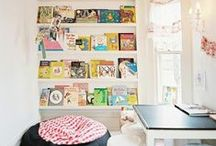 Kids Reading Space / by Cherine Making Montessori Ours