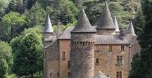 FRENCH CASTLES & OLD STONES / French Castles, Fortified Castles and Manors from medieval times to XIX century.