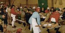 BRUEGHEL & Co / Pieter Bruegel (Brueghel) the Elder (1525 – 1569) was a Flemish Renaissance painter and printmaker known for his landscapes and peasant scenes (so called genre painting).   Pieter Breughel the younger (1564 -1638)