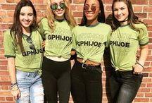 Gamma Phi Beta / Sending love to our Gamma Phi Beta customers!