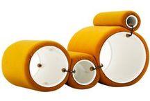 JOE COLOMBO / #Design #Vintage #Lamps #Furniture #Iconic