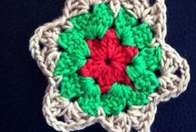 Crochet for Christmas / Crochet for the Christmas season including ornaments, decorations, trees, stars and more.