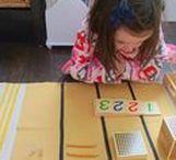 Math - Montessori & Home School / Montessori and homeschool math activites for preschool to elementary children