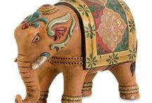 Elephants / Bombay Company elephant decor at bombaycompany.com / by Bombay Company