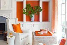 Orange / Orange decor from bombaycompany.com / by Bombay Company