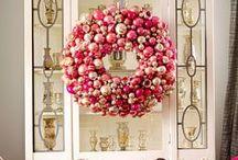 Pink Christmas Decor & Crafts