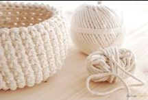 Crochet  / by Cherine Making Montessori Ours