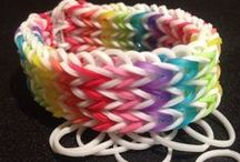 Rainbow Loom Tutorials / My girl loves her rainbow loom so this is a collection of fun tutorials and inspiration for making bracelets and more with a rainbow loom.