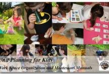 Unit Study Work / We are a home schooling/unschooling family loving Montessori Philosophy and materials. Blogging our adventures in learning, growing and sharing what we love in the process! / by Cherine Making Montessori Ours