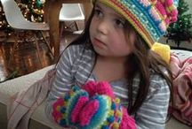 Crochet Hats, Mitts & Slippers