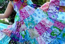 Quilt Patchwork Dresses & Skirts