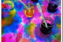 Tie Dye Effect Art