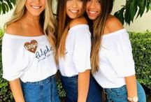 ☆ recruitment ☆ / It's recruitment season! Check out some of our looks from your favorite week of the school year.