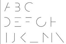 alphabetics / by Josh Draper