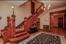 Interiors / Distinctive Historic Home Interiors with Significant Detailing