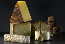Cheese & Cheese Boards / A well-put-together cheeseboard can be the perfect end to a dinner party, or served as a snack at any gathering. Discover the most inspiring cheeseboard ideas and the best ways to serve cheese and crackers.
