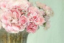 Flowers / || fresh || bouquet || papers || plastics || craft ||