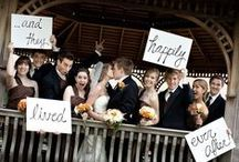 Wedding Ideas / Inspiration for friends with kids who are about to embark on their big day and my long-time friend Shelley, who is a newly established Wedding Planner. / by Mary White Joslin