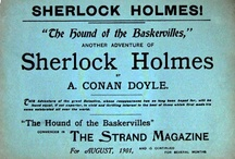 The Game's Afoot / It's Elementary: This board showcases all things Sherlock Holmes. / by Elana Starr