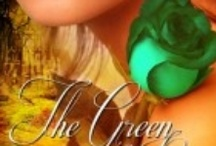 The Green Rose / A board with pictures inspired from my novel, The Green Rose.