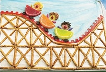 VBS Snack Ideas - Roller Coaster / Amusement Park / Check out all of the fun snack ideas for 2013 #VBS Roller Coaster or Amusement Park!