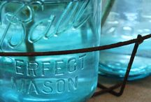 mason jars. / by Jessica Webb