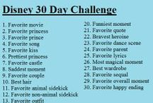 Disney 30 Day Challenge / by Katelyn Miller