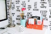My Office Space / by Ashley Caballero