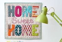 #wordplayminiquiltswap / Texty inspiration for my upcoming Instagram quilt swap!
