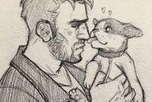 dream daddy // ROBERT SMALL