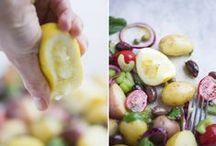 31 days of salad / 31 salad recipes