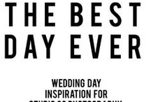 YOUR BEST DAY EVER / Wedding ideas for Studio 29 couples!