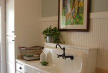 Dream laundry / mudroom / back entryway ideas