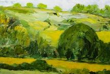 My-Landscape Paintings / Allan's Landscape Paintings / by Allan P Friedlander