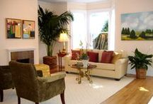 My Art in Homes / Homes Where my Art was Used for Staging / by Allan P Friedlander