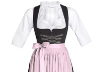 Trachten Dirndl Sets / The comfortably cut Stockerpoint traditional costume dirndl dresses are the perfect outfit for service staff in hotels, restaurants and in the catering trade. The 3-piece sets include the dress, a dirndl blouse and a dirndl apron. Easy-care and very durable. www.oktoberfest-dirndl.co.uk
