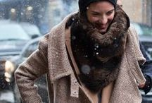 Brrr / Fall and winter fashion; I love layers.