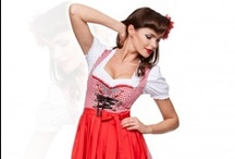 Dirndl 60cm / Stockerpoint. The short midi dirndl with a skirt length of 60 cm is the star among the new traditional costume fashion creations. Midi dirndls are fresh and daring, and yet suitable dresses for women of all ages and sizes, because the skirt covers the knees. Designs, colours and materials are similar to those of the young, sexy mini dirndls. http://www.trachten-dirndl-shop.co.uk/