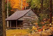 Log Cabin / by Shirley Surface