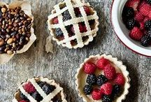 Pies, Cobblers and Crisps.... / .... and also tarts! Can't forget the tarts!  :) / by Jennie Smith