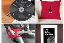 eInvite Top Picks: Music Inspired Products and Ideas / Do you love music? Do you play an instrument? Check out these music-inspired products, sure to hit the right note!