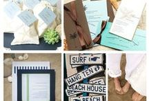 Beach Inspired Wedding Ideas /  You can be the ultimate host! Many couples are coming to realize the joys of making their wedding even more special by traveling to a romantic location — which doesn't have to be far from home — and bringing their closest friends and relatives with them. No matter the weather back home, destination beach weddings are a perfect way to ensure the weather is everything you hope for on your special day!