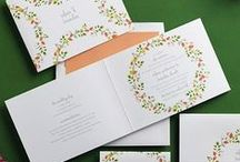 eInvite All in One Wedding Invitations / All in One Invitations are affordable, easy and super mod! The invitation even includes a detachable RSVP postcard. Three in one and all on one piece.